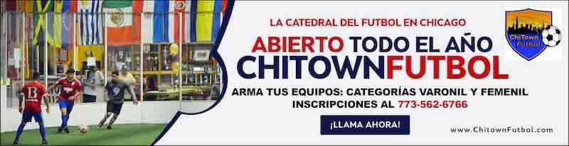 Chitown Futbol Chicago abierto todo el verano