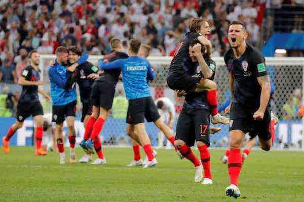 Croacia la selección con peor ránking FIFA en alcanzar una final