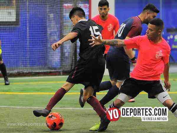 Deportivo Azteca-Los Merengues-Liga Latinoamericana Futbol en Chicago