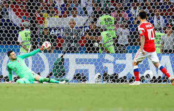 Los penaltis ponen a Croacia en semifinales y apagan el sueño ruso