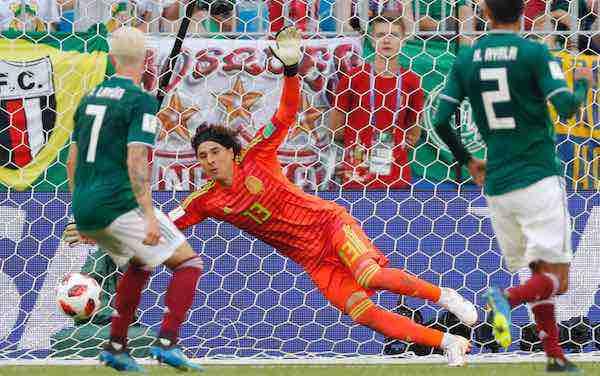 """Guillermo Ochoa: """"Brasil ha merecido la victoria, tiene más talento que nosotros"""""""