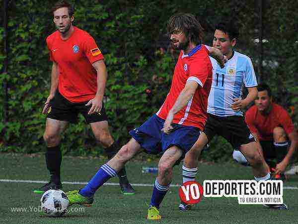 Islandia-Argentina-Illinois International Soccer League-Mundialito Chicago