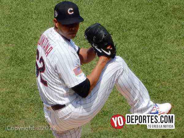 Jose Quintana de los Cachorros contra Tigres Detroit