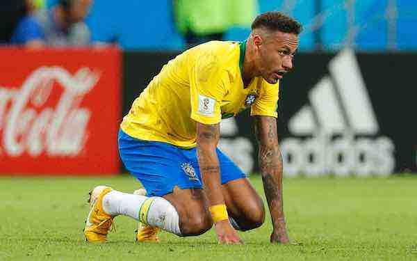 Neymar, mucho ruido y pocos goles en el Mundial de Rusia
