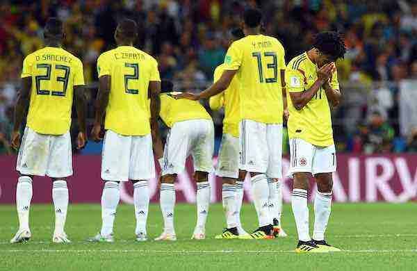 Crueles penales meten a Inglaterra en cuartos y despide a Colombia