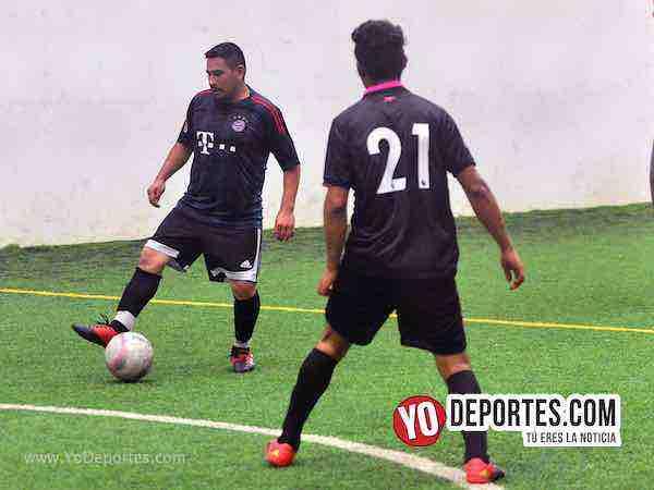 Real Celaya-Los Aztecas-Liga San Francisco Chicago soccer indoor