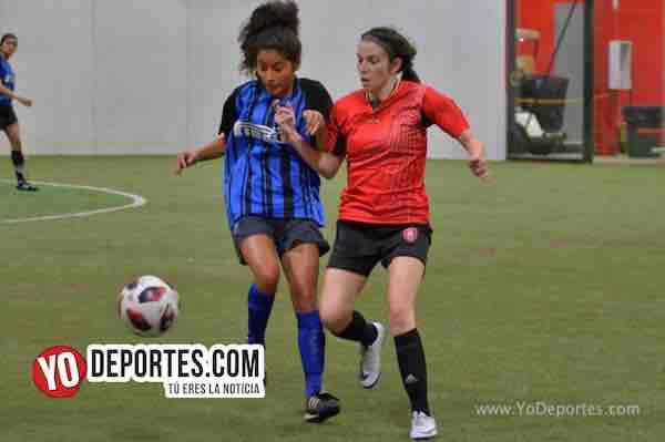 San Luis-Chicago Ladies-Liga Latinoamericana Mujeres futbolistas