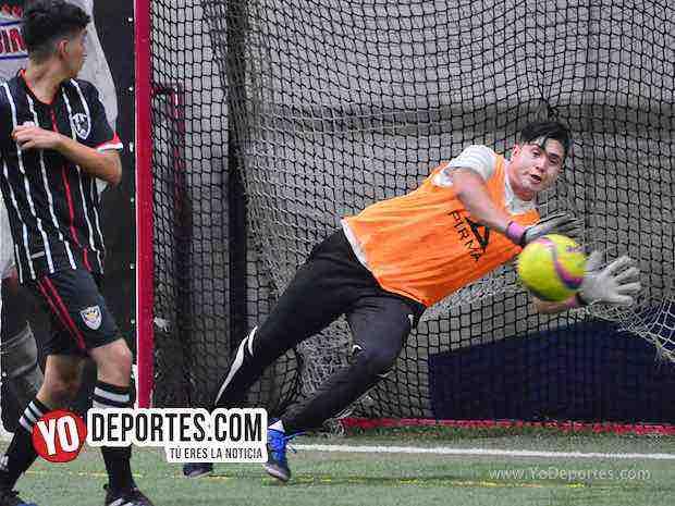 San Marcos-Warriors-Liga 5 de Mayo Indoor futbol