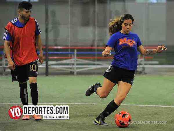Tarantulas contra Coalcoman Liga Latinoamericana COED Soccer
