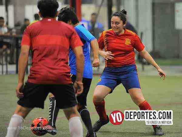 Tarantulas contra Coalcoman Liga Latinoamericana Soccer League