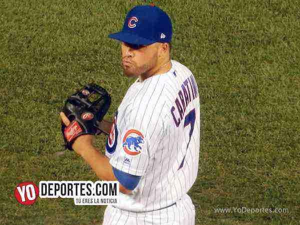 Victor Caratini-Cubs pitcher Arizona Diamondbacks