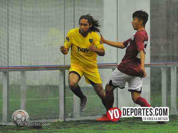 Anibal Mendoza-Boca Jr-Superman-Champions de los Martes-Liga San Francisco