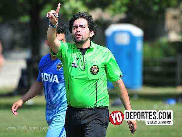 Arbitro Alvaro Cortina-Deportivo Morelos-Artilleros Brasil-Liga 5 de Mayo