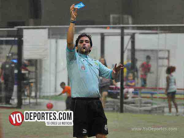 Arbitro Alvaro Cortina-Lobos FC-GFC-Liga 5 de Mayo