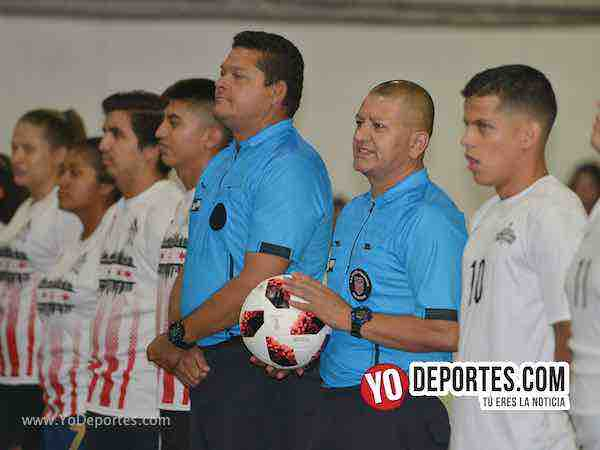Arbitro Danilo Caballro-Jesse Aguirre-Chicago Flash-Chicago All Stars-Liga Latinoamericana-Miercoles