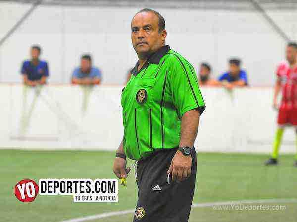 Arbitro Enrique Benitez-Atletico San Miguel-Manchester City-Liga 5 de Mayo