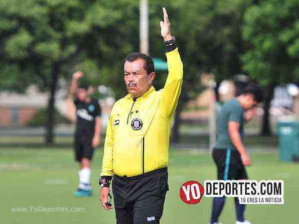 Arbitro Jesse Zaragoza-Boca Jr-Sharks-Liga Latinoamericana