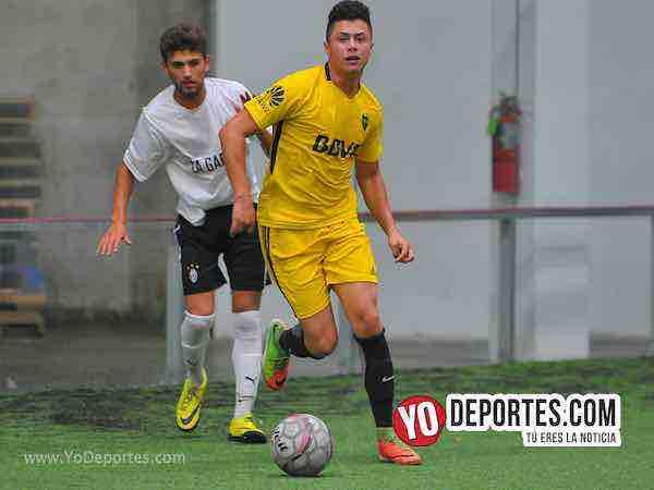 Boca Jr-La Garita-Champions de los Martes-Liga San Francisco Indoor Soccer Chicago