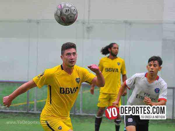 Boca Jr-La Garita-Champions de los Martes-Liga San Francisco Soccer League