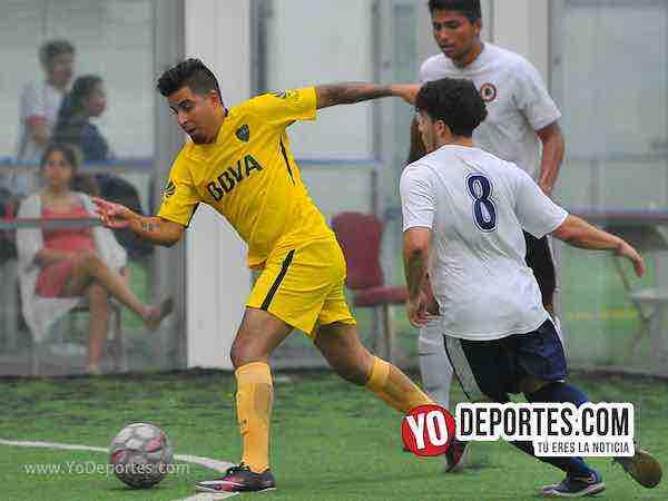 Boca Jr-La Garita-Champions de los Martes-Liga San Francisco Soccer en Chicago