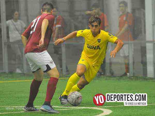 Boca Jr-Superman-Champions de los Martes-Liga San Francisco Indoor futbol