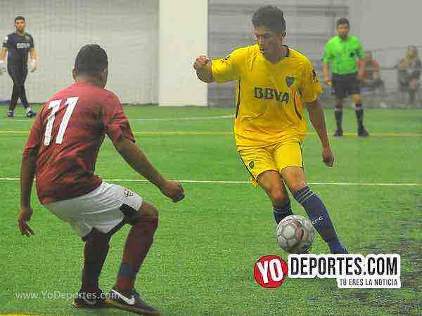 Boca Jr-Superman-Champions de los Martes-Liga San Francisco Indoor soccer league