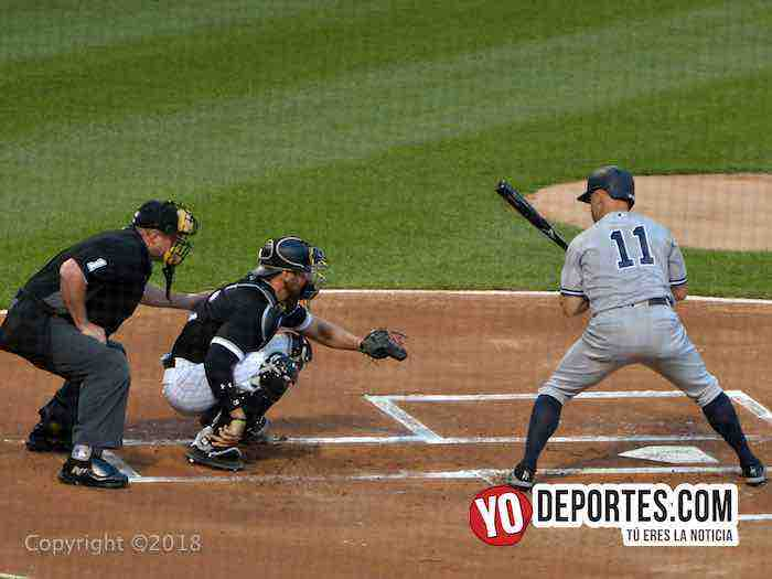 Brett Gardner-Chicago White Sox-Nueva York Yankees-lunes