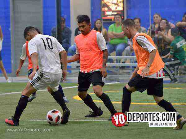 Chicago Flash-Chicago All Stars-Liga Latinoamericana-Miercoles Futbol Indoor