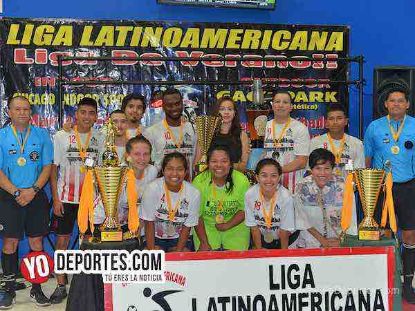 Chicago Flash-campeones-Liga Latinoamericana-Miercoles