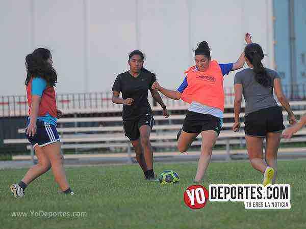 Cicero Jaguars FC Entrenamiento en La Villita