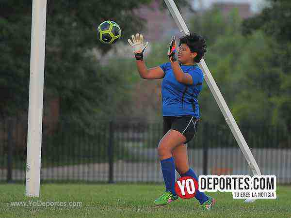 Cicero Jaguars FC practicas en Little Village High School