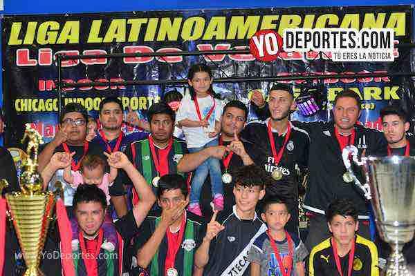 Deportivo Azteca campeones absolutos del martes en la Liga Latinoamericana
