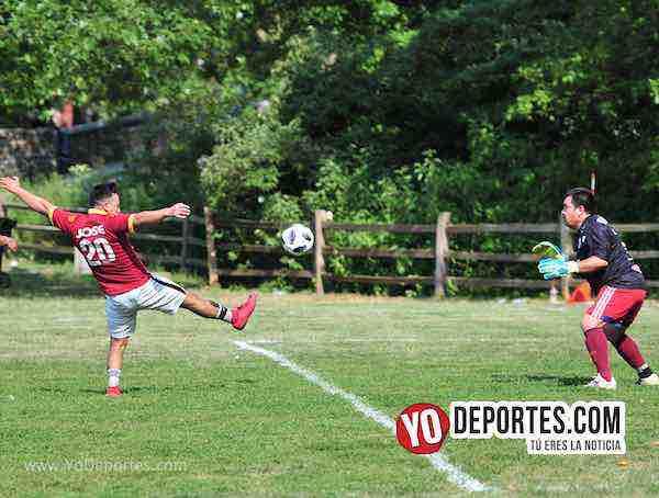 Deportivo Morelos-Artilleros Brasil-Liga 5 de Mayo Futbol en Chicago Sherman Park
