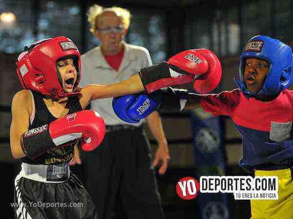 Christ Figueroa contra Romero Andrade Harrison Park Boxing Event 2018