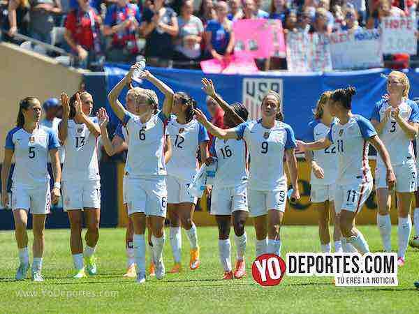 Estados Unidos contra Brasil en el Torneo de Naciones esta noche en el Toyota Park