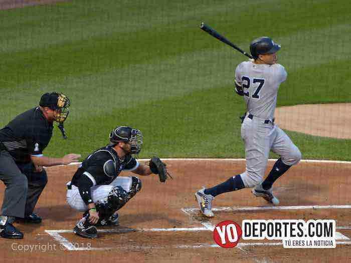 Giancarlo Stanton-White Sox-Yankees-Chicago White Sox-Nueva York Yankees-lunes