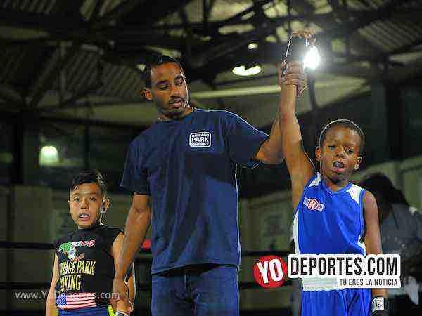 Jerred Webster vs Saúl Hernández Harrison Park Boxing Event