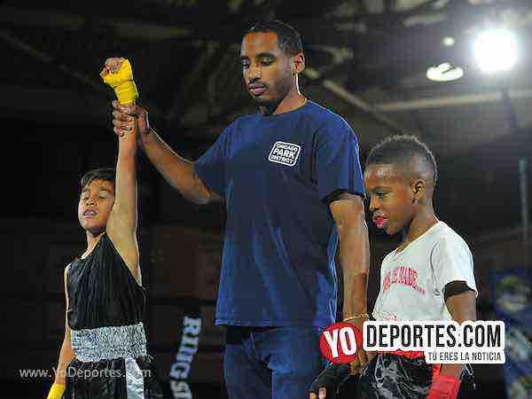 Jesus Barraza vs Shiloh Jackson Harrison Park Boxing Event