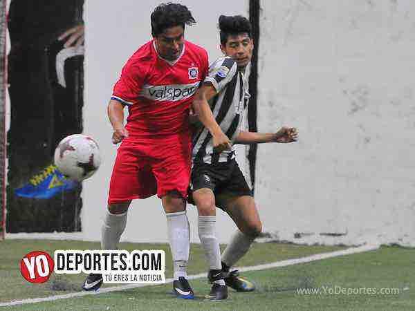 Lobos FC-GFC-Liga 5 de Mayo Indoor futbol