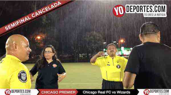 Semifinal femenil suspendida por peligrosa tormenta en la Chicago Women Premier