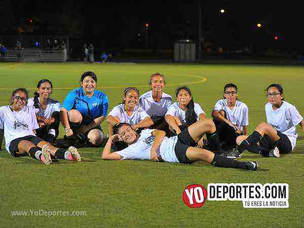 Wizard imbatibles y siguen invictas en la Chicago Women Premier