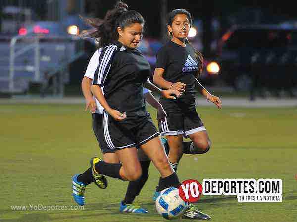Wizard-Las Guerreras-Chicago Women Premier Academy Futbol femenil