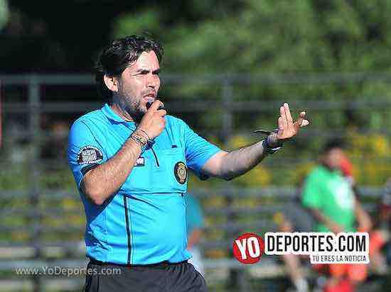Arbitro Alvaro Cortina-Juventus-Guanajuato-Liga 5 de Mayo semifinal