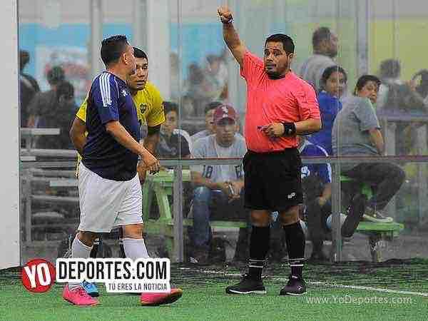 Arbitro Antonio Lopez-Real Celaya-Boca Jr-Champions de los Martes-Liga San Francisco