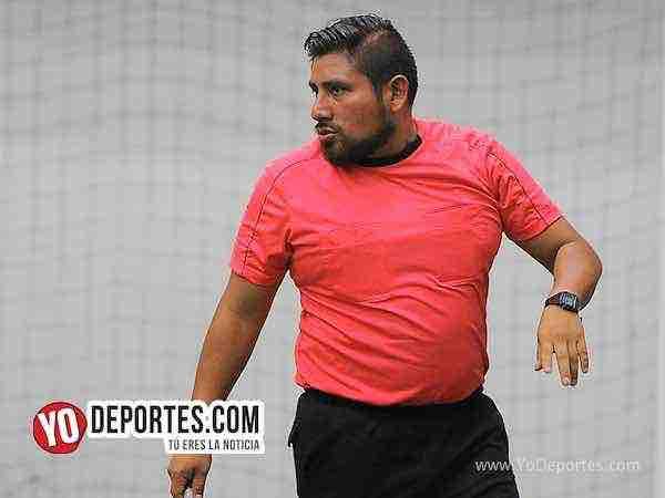 Arbitro Gio Gonzalez-Real Celaya-Boca Jr-Champions de los Martes-Liga San Francisco