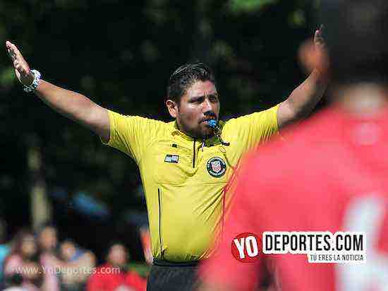 Arbitro Gio Gonzalez-Tilza Morelos-CD Hidalgo-Liga Interamericana