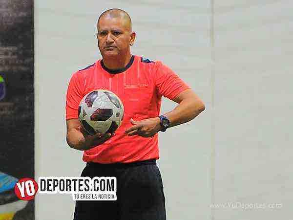 Arbitro Jesse Aguirre'Juventus-Cafeteros-Liga Latinoamericana