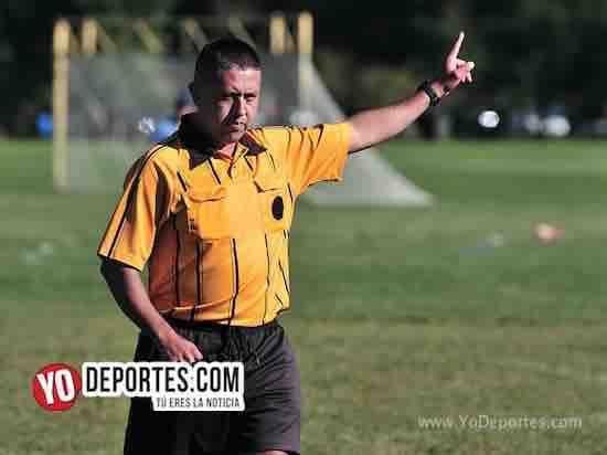 Arbitro Roberto Carlos-FC Maya Mil-Atlante-Liga Douglas