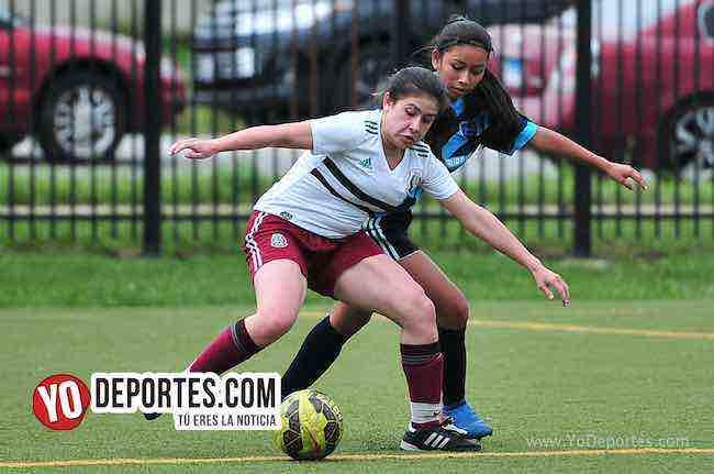 Blus Island-Chicago Real FC-Chicago Women Premier Final femenil