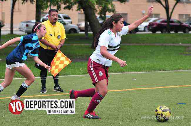 Blus Island-Chicago Real FC-Chicago Women Premier Soccer League